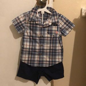 Carters 9 Month 2 piece set, never worn